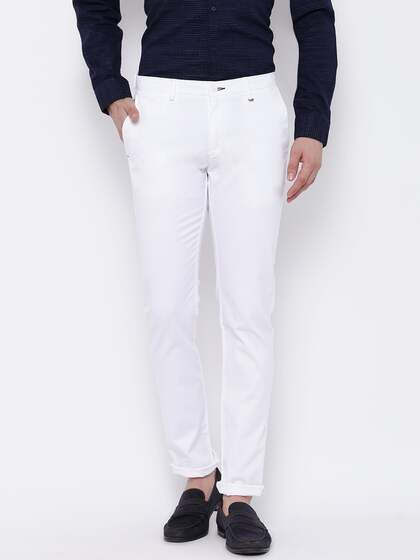 White Trousers - Buy White Trousers Online in India 5adeae5c9