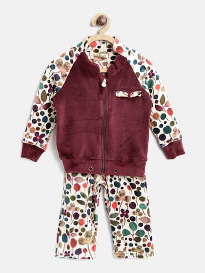 ca53032adc2 Sweet Dreams. Girls Printed Tracksuit