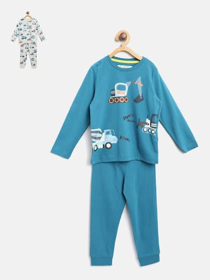 3cd3d9398 Boys Night Suits - Buy Boys Night Suits online in India