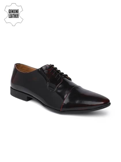 d9de89bbc Leather Formal Shoes   Buy Leather Formal Shoes Online in India at ...