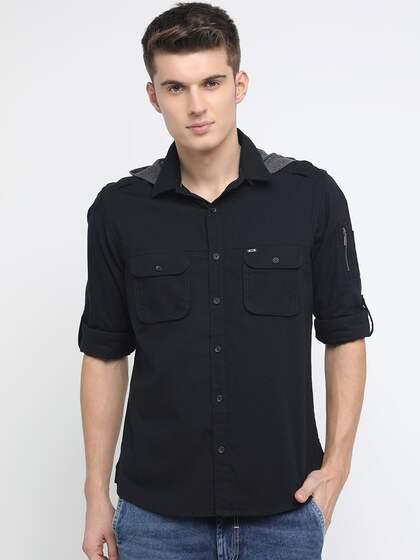ecd5c2a5ce Basics Shirts - Buy Basics Shirt for Men Online in India   Myntra