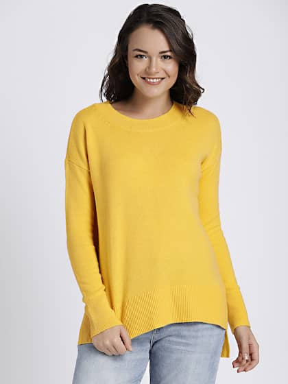 2639a61e54 Sweaters for Women - Buy Womens Sweaters Online - Myntra