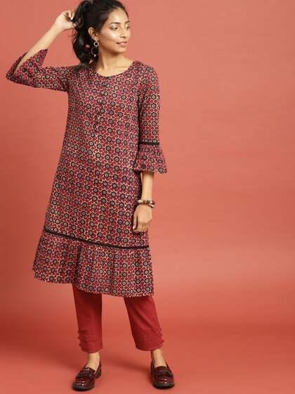 Lace Kurtas - Buy Lace Kurtas online in India e1ee0f227
