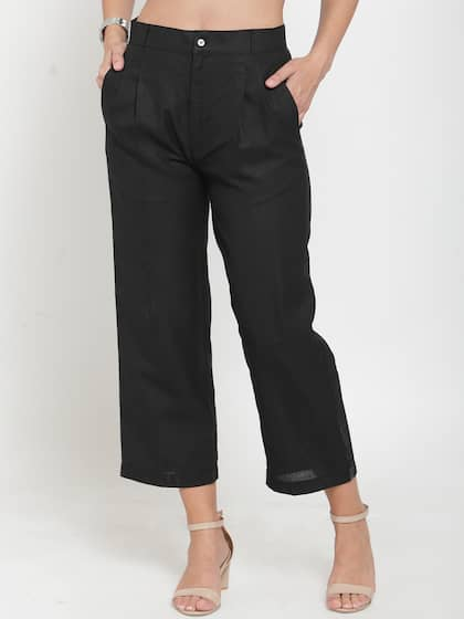 07f32d1a Women Formal Trousers - Buy Women Formal Trousers online in India
