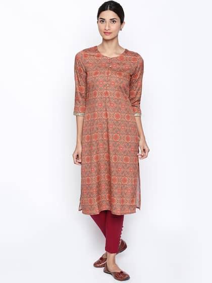 3b6a7728fce Straight Kurtis - Buy Straight Kurti For Women Online in India