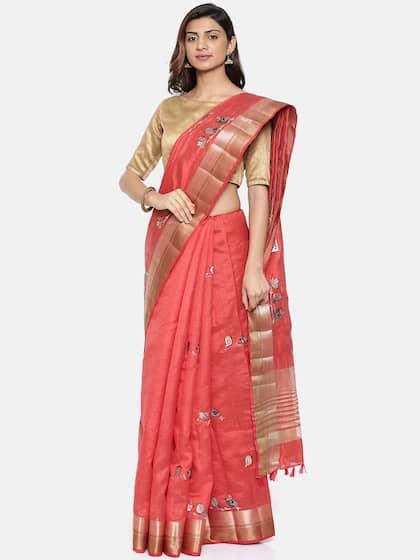714f34eae2 Ethnic Saree - Traditional Designer Ethnic Sarees Collection - Myntra