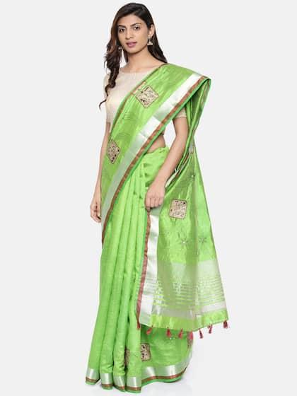 bcae9526e Cotton Silk Saree - Buy Cotton Silk Sarees Online