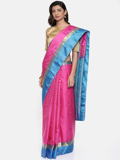 22b190427d104 Ethnic Saree - Traditional Designer Ethnic Sarees Collection - Myntra
