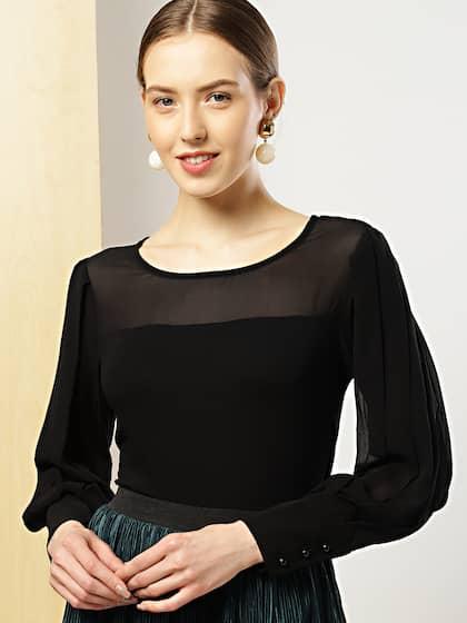 424505ccc4 Tops - Buy Designer Tops for Girls   Women Online