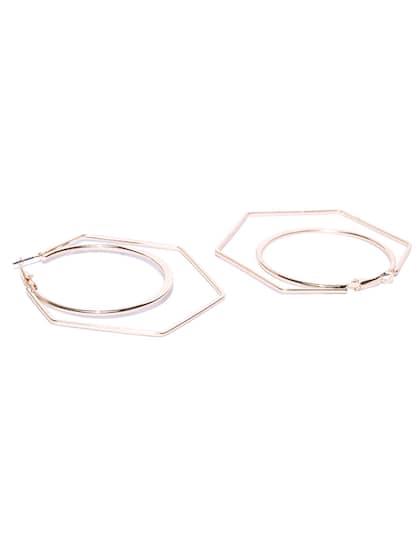 eadc0cc546f6e Hoop Earrings - Buy Hoop Earrings Online For Women & Girls | Myntra
