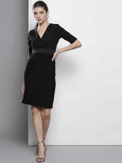 Black Dress Buy Black Dresses For Women In India Myntra