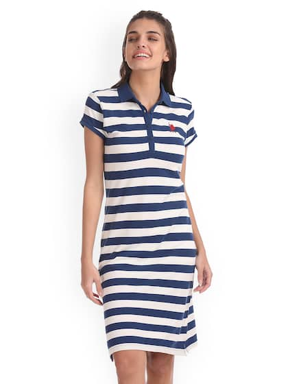 f9d8b10d3c5 Polo Stripes Dresses - Buy Polo Stripes Dresses online in India