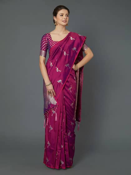 145a4e6bf8d103 Plain Sarees - Buy Plain Sarees for Women Online | Myntra