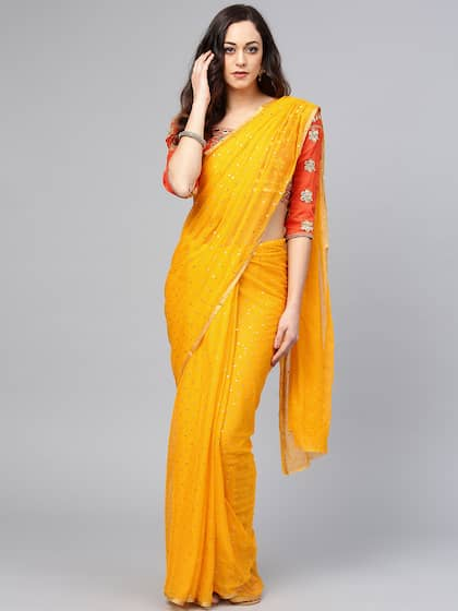 27c460fe5c7c25 Designer Saree - Buy Designer Sarees Online in India @ Myntra