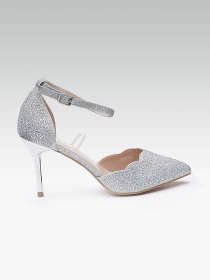 133aa8e3bbb2 Silver Heels - Buy Silver Heels Online in India