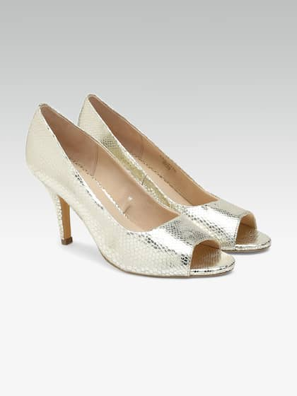 e92d6536b0 Carlton London Peep Toe Footwear - Buy Carlton London Peep Toe ...