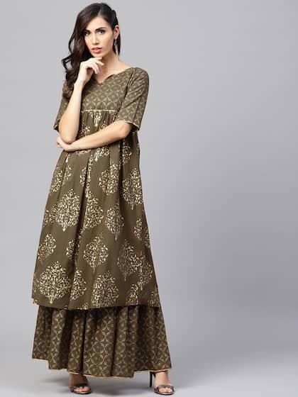 Shararas Buy Designer Sharara Suits Online Myntra