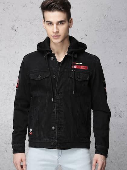 eeacbdd6e0a Jackets - Buy Leather Jackets, Denim Jackets for Men & Women - Myntra