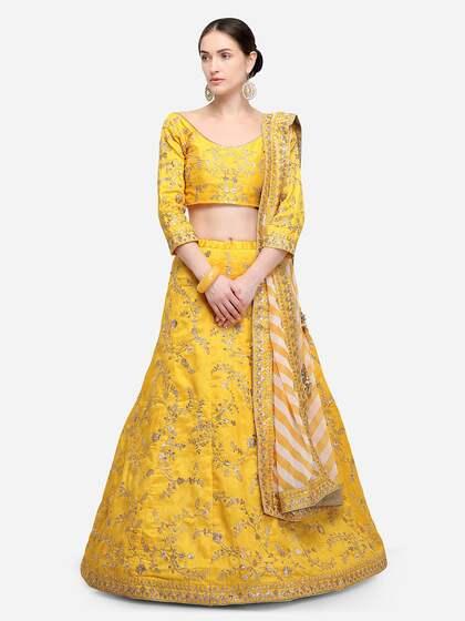 Lehenga Shop For Lehenga Cholis Online In India Myntra