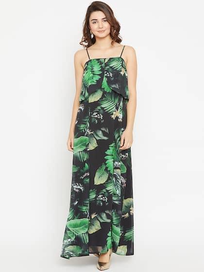 13b207f4c0c Green Dress - Buy Green Dress Online in India