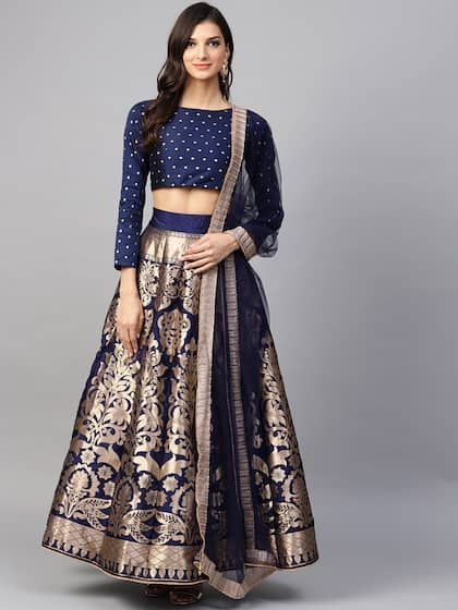 5f7bc1576c Bridal Lehenga - Shop Online for wedding Lehengas at Best Price | Myntra