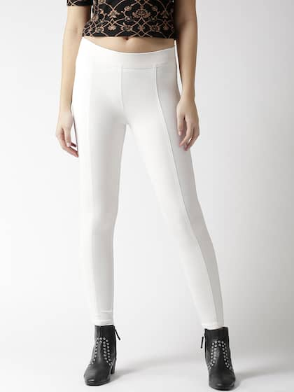 761e89542ec7bb White Jeggings - Buy White Jeggings Online in India
