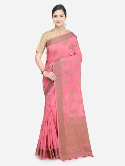 0430d64c15ae3 Jute Silk Sarees - Buy Pure Jute Silk Saree Online