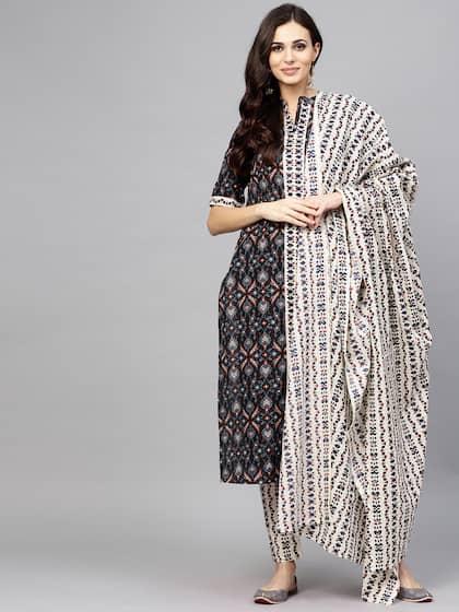 92440b86b7 Black Salwar Suit | Buy Black Salwar Suit online in India