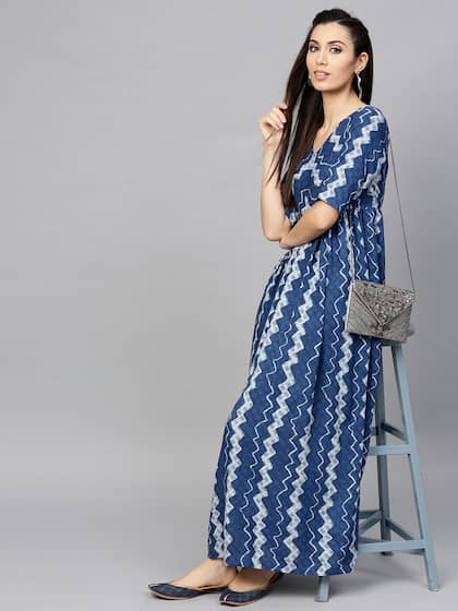 6f9d7882b6 Long Dresses - Buy Maxi Dresses for Women Online in India - Upto 70% OFF