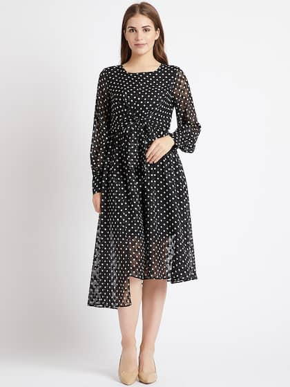 986fffa4ed0 COVER STORY. Women Printed Fit and Flare Dress
