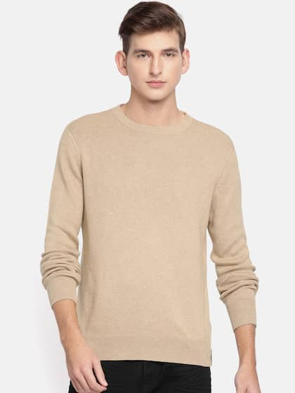 b03d77a23369 Calvin Klein Jeans. Men Solid Sweater