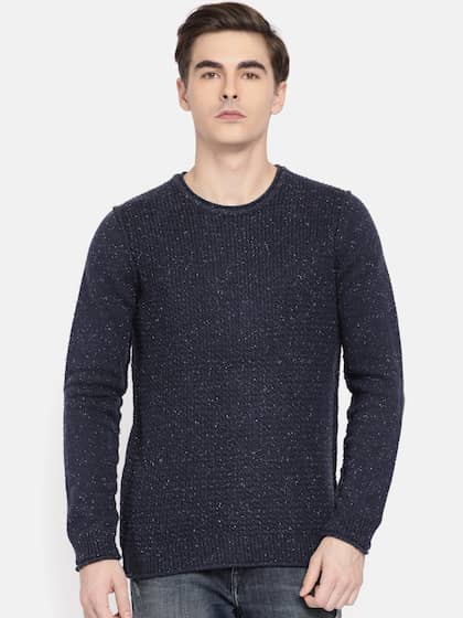 79deddfcb17bee Calvin Klein Jeans. Men Self Design Sweater