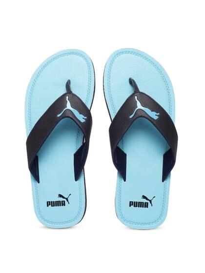 Puma Blue Yellow Flip Flops - Buy Puma Blue Yellow Flip Flops online ... 59e89ea8e