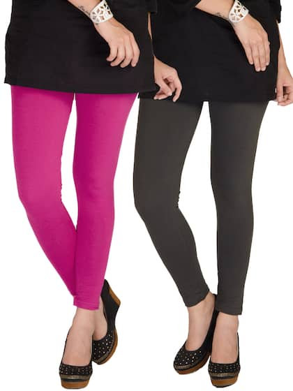08614c4afbb7f Pink Leggings - Buy Pink Leggings Online in India