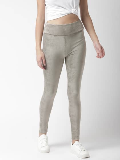 e1bd77dcb02a Olive Jeggings - Buy Olive Jeggings online in India