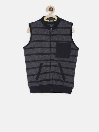 e45353a4d17 Boys Sleeveless Sweaters - Buy Boys Sleeveless Sweaters online in India