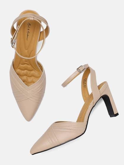 1284fd2e3c2 Heels Online - Buy High Heels, Pencil Heels Sandals Online | Myntra