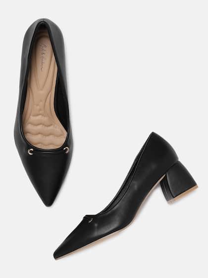 307474f5f9680 Black Heels - Buy Black Heels Online in India