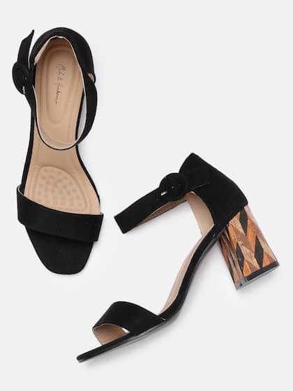 df3eeb130627 Heels Online - Buy High Heels, Pencil Heels Sandals Online | Myntra