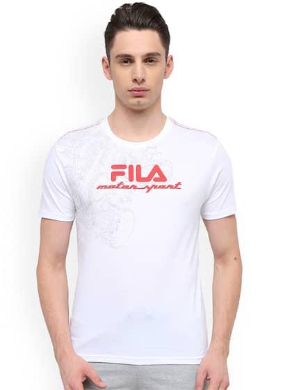 5f0c507933 Fila T-shirt - Buy Fila T-shirts for Men & Women Online in India