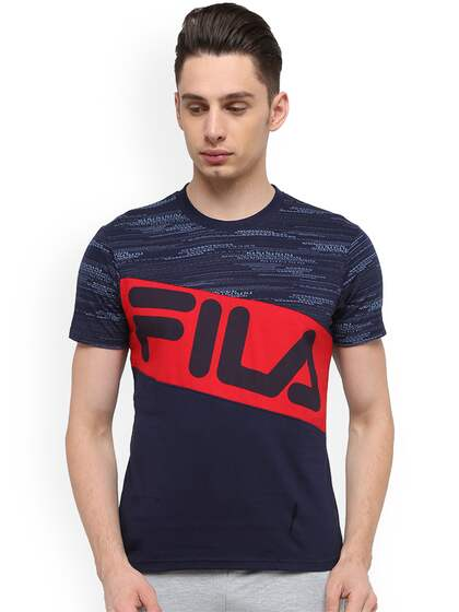 Fila T-shirt - Buy Fila T-shirts for Men   Women Online in India c88ee46ca4