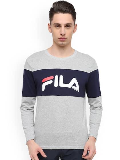 37cc5bf925c1 Fila T-shirt - Buy Fila T-shirts for Men & Women Online in India