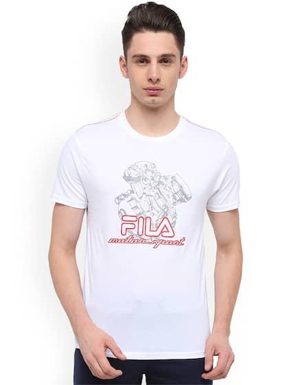 a096603b65 Fila T-shirt - Buy Fila T-shirts for Men & Women Online in India