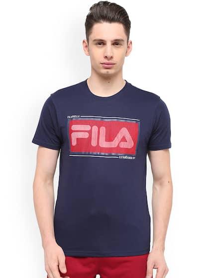 b0f89185994eef Fila T-shirt - Buy Fila T-shirts for Men   Women Online in India