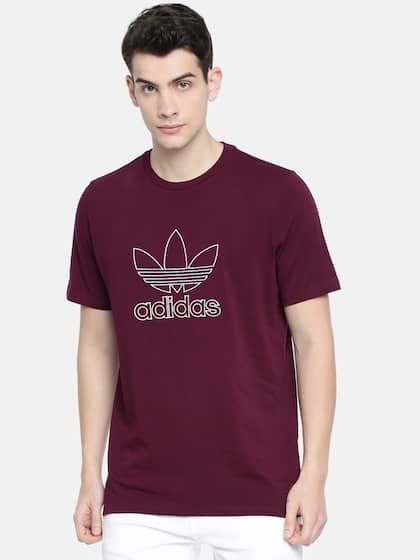 Adidas T-Shirts - Buy Adidas Tshirts Online in India  68fe8c180
