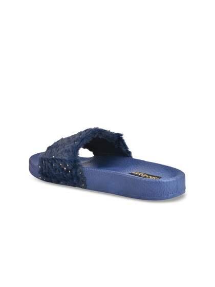 b9cdf12691a3 Fur Flip Flops - Buy Fur Flip Flops online in India