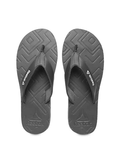 aa1436532e2 Reebok Men Grey Solid Thong Flip-Flops