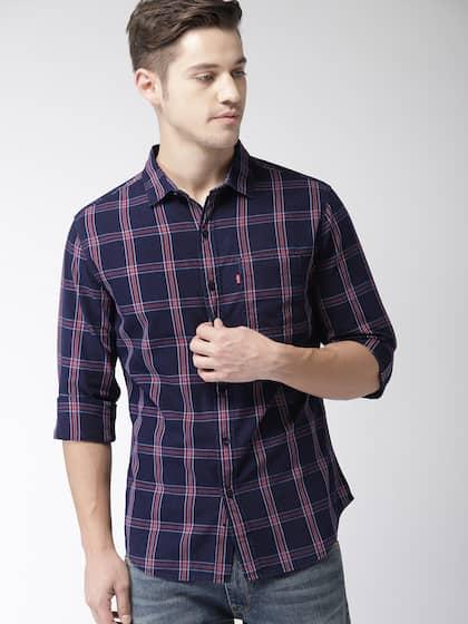 43152bf72a Men Check Shirts - Buy Men Check Shirts online in India