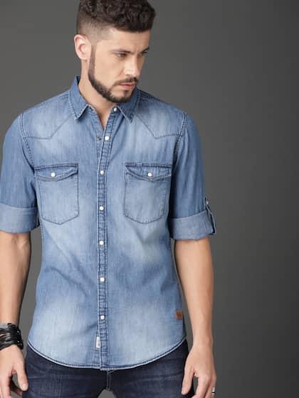 80102c16eb8 Buy Roadster Shirts For Men   Women Online at Myntra