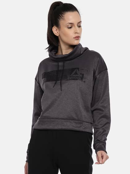 b9cb3b5f Reebok Women Jackets Sweatshirts - Buy Reebok Women Jackets ...